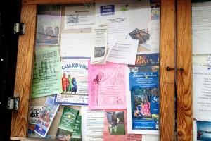 Blue Lake Bulletin Board