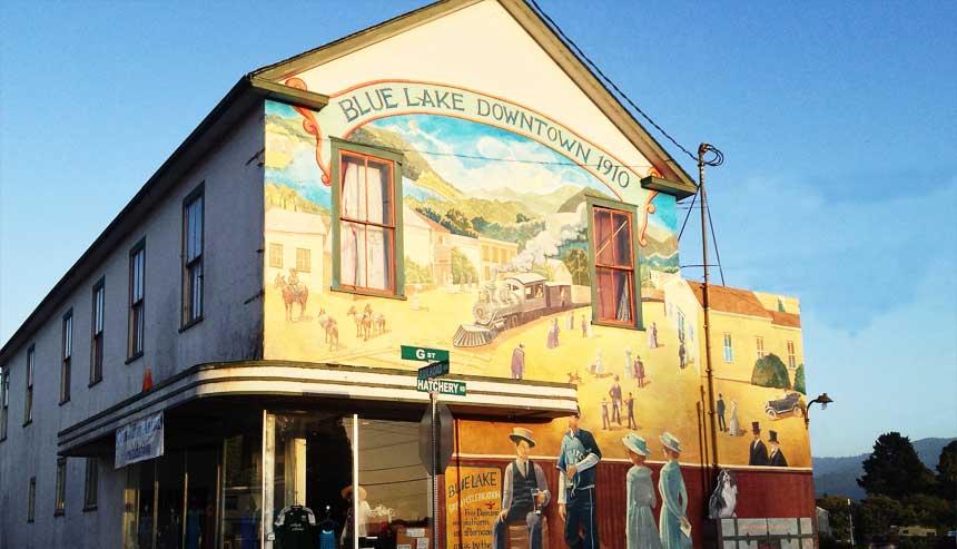 Blue Lake Mural